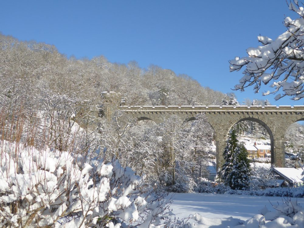 Viaduct in snow 2017